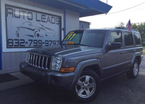 2007 Jeep Commander for sale at AUTO LEADS in Pasadena TX