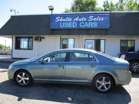 2009 Chevrolet Malibu for sale at SHULTS AUTO SALES INC. in Crystal Lake IL