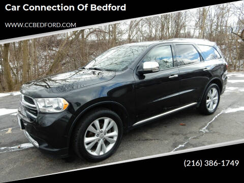 2011 Dodge Durango for sale at Car Connection of Bedford in Bedford OH