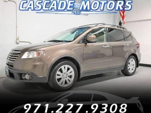 2009 Subaru Tribeca for sale at Cascade Motors in Portland OR