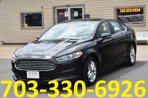 2015 Ford Fusion for sale at MANASSAS AUTO TRUCK in Manassas VA