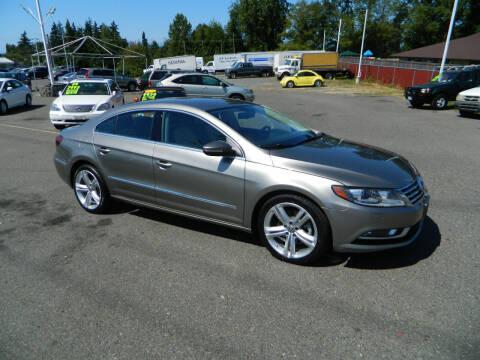 2013 Volkswagen CC for sale at J & R Motorsports in Lynnwood WA
