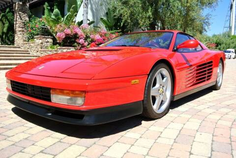 1990 Ferrari Testarossa for sale at Newport Motor Cars llc in Costa Mesa CA