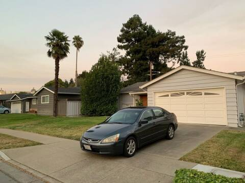 2004 Honda Accord for sale at Blue Eagle Motors in Fremont CA