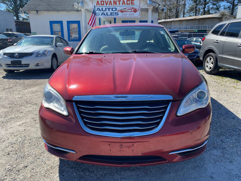 2011 Chrysler 200 for sale at Advantage Motors in Newport News VA