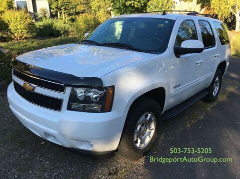 2012 Chevrolet Tahoe for sale at Bridgeport Auto Group in Portland OR