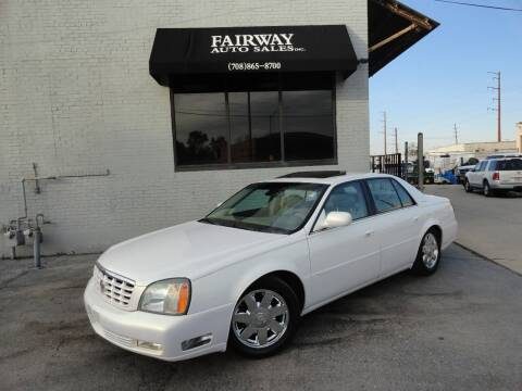 2004 Cadillac DeVille for sale at FAIRWAY AUTO SALES, INC. in Melrose Park IL