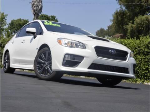 2017 Subaru WRX for sale at BAY AREA CAR SALES in San Jose CA