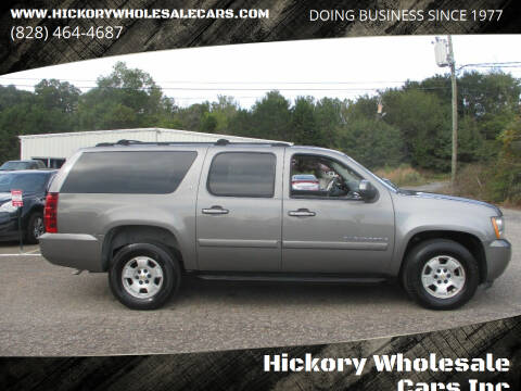 2007 Chevrolet Suburban for sale at Hickory Wholesale Cars Inc in Newton NC
