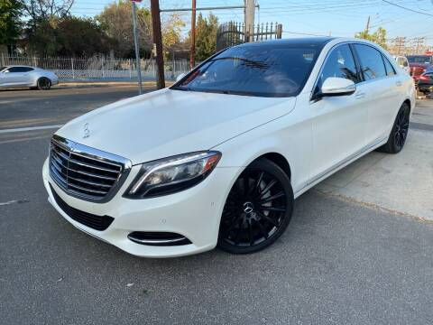 2015 Mercedes-Benz S-Class for sale at West Coast Motor Sports in North Hollywood CA