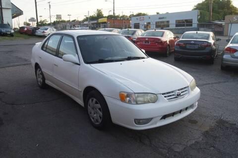2002 Toyota Corolla for sale at Green Ride Inc in Nashville TN