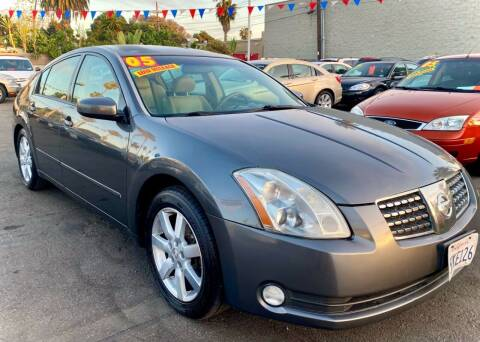 2005 Nissan Maxima for sale at North County Auto in Oceanside CA