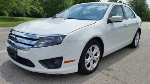 2012 Ford Fusion for sale at Superior Auto Sales in Miamisburg OH