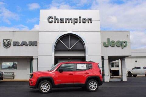 2019 Jeep Renegade for sale at Champion Chevrolet in Athens AL