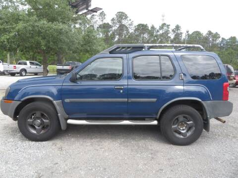 2002 Nissan Xterra for sale at Ward's Motorsports in Pensacola FL