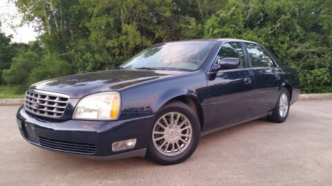 2003 Cadillac DeVille for sale at Houston Auto Preowned in Houston TX