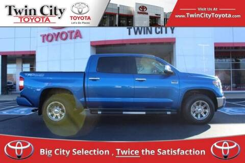2018 Toyota Tundra for sale at Twin City Toyota in Herculaneum MO
