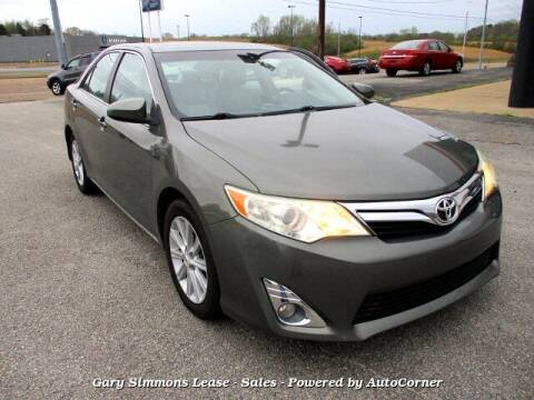 2012 Toyota Camry for sale at Gary Simmons Lease - Sales in Mckenzie TN