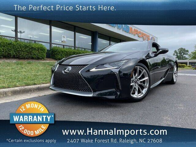 2018 Lexus LC 500 for sale in Raleigh, NC