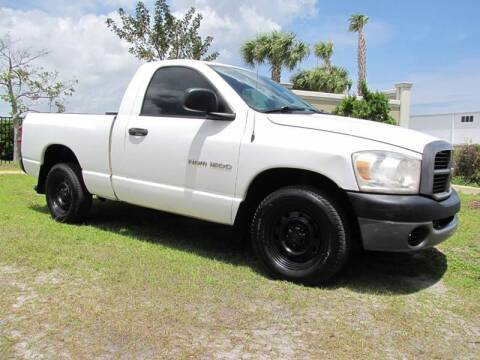 2007 Dodge Ram Pickup 1500 for sale at Kaler Auto Sales in Wilton Manors FL