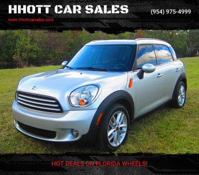 2012 MINI Cooper Countryman for sale at HHOTT CAR SALES in Deerfield Beach FL