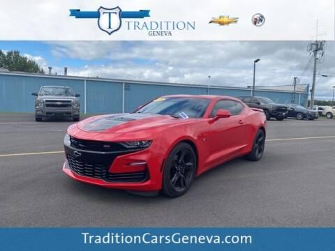 2019 Chevrolet Camaro for sale at Tradition Chevrolet Buick in Geneva NY