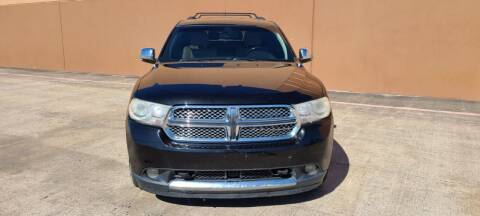 2011 Dodge Durango for sale at ALL STAR MOTORS INC in Houston TX