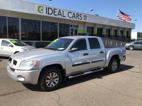 2007 Mitsubishi Raider for sale at Ideal Cars in Mesa AZ