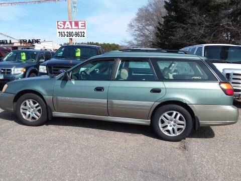 2003 Subaru Outback for sale at Affordable 4 All Auto Sales in Elk River MN