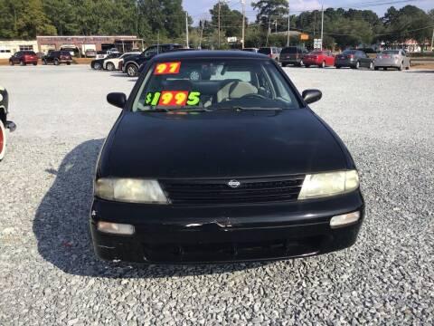 1997 Nissan Altima for sale at K & E Auto Sales in Ardmore AL