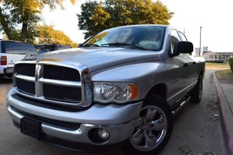 2003 Dodge Ram Pickup 1500 for sale at E-Auto Groups in Dallas TX
