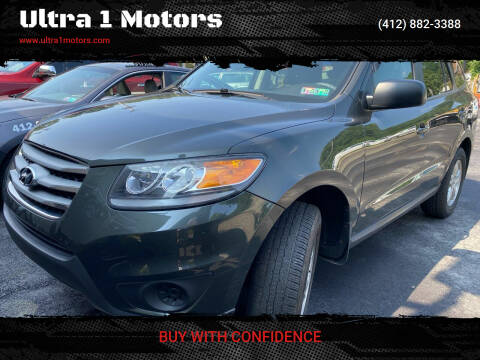 2012 Hyundai Santa Fe for sale at Ultra 1 Motors in Pittsburgh PA