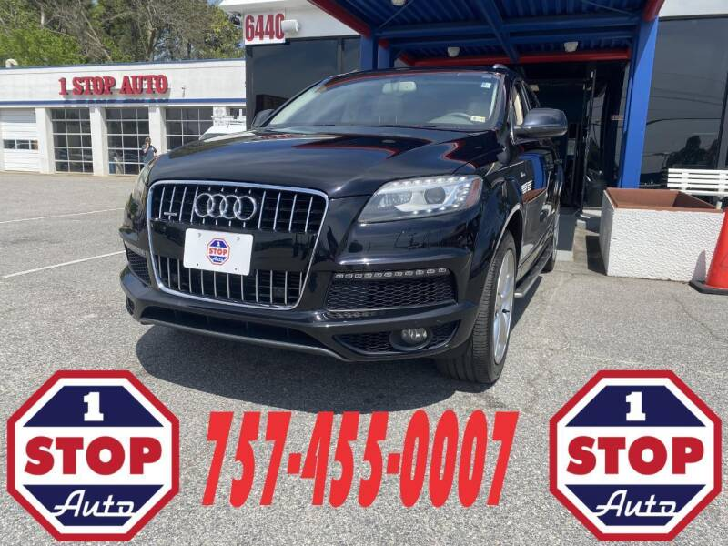 2011 Audi Q7 for sale at 1 Stop Auto in Norfolk VA