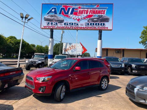 2013 Mitsubishi Outlander Sport for sale at ANF AUTO FINANCE in Houston TX