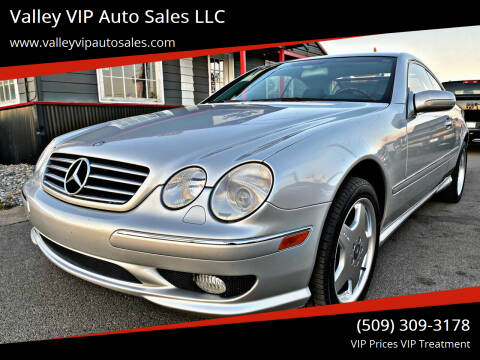 2002 Mercedes-Benz CL-Class for sale at Valley VIP Auto Sales LLC - Valley VIP Auto Sales - E Sprague in Spokane Valley WA