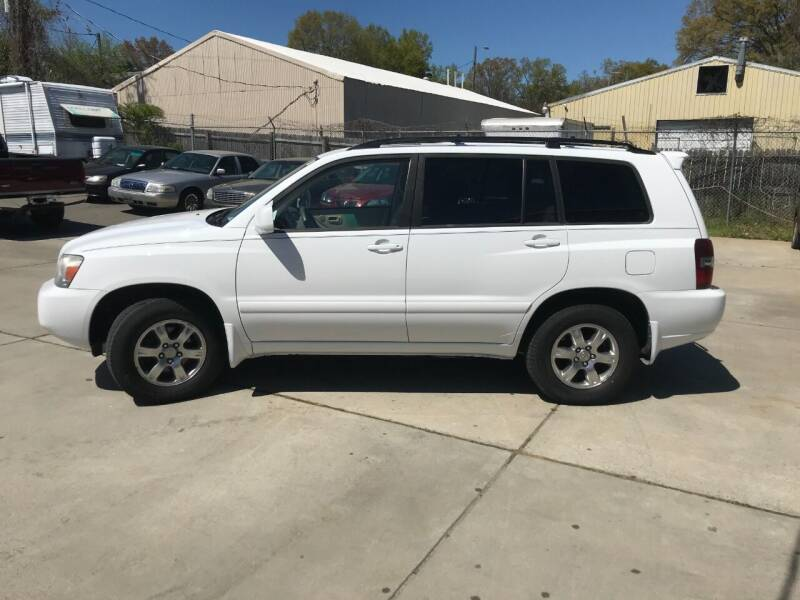 2007 Toyota Highlander for sale at Mike's Auto Sales of Charlotte in Charlotte NC