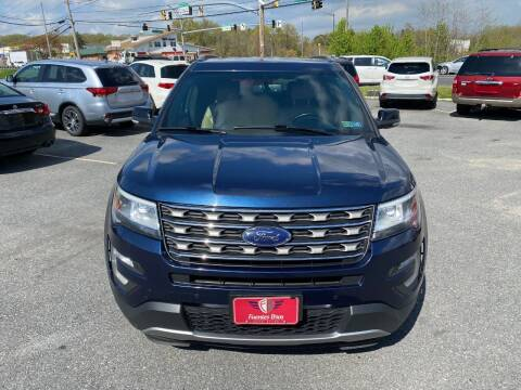 2017 Ford Explorer for sale at Fuentes Brothers Auto Sales - Jessup in Jessup MD