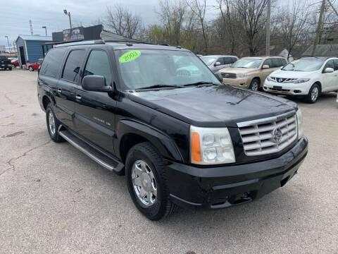 2003 Cadillac Escalade ESV for sale at LexTown Motors in Lexington KY
