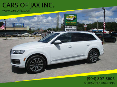 2017 Audi Q7 for sale at CARS OF JAX INC. in Jacksonville FL