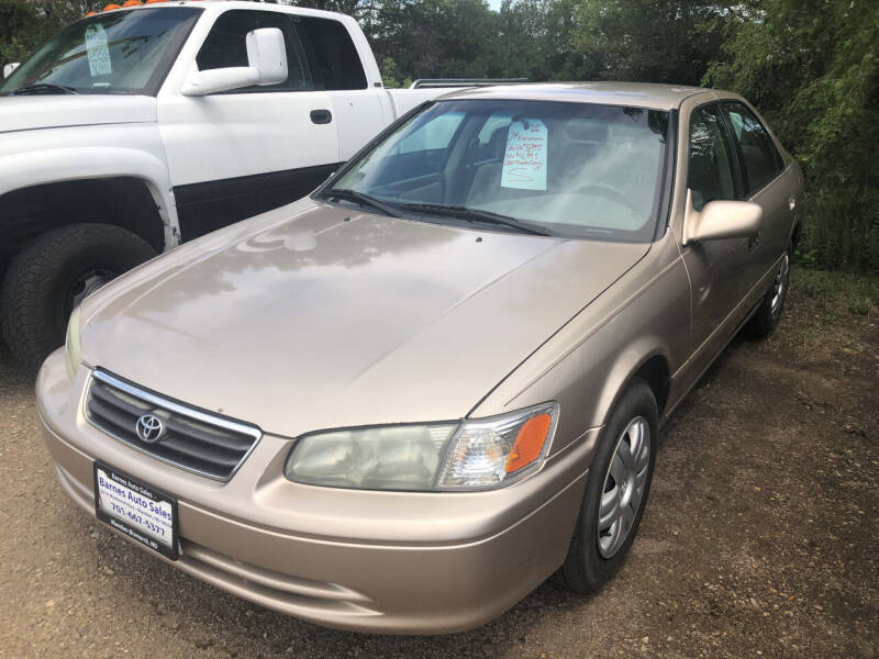 2001 Toyota Camry for sale at BARNES AUTO SALES in Mandan ND