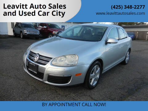 2009 Volkswagen Jetta for sale at Leavitt Auto Sales and Used Car City in Everett WA