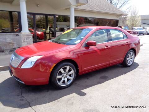 2010 Mercury Milan for sale at DEALS UNLIMITED INC in Portage MI