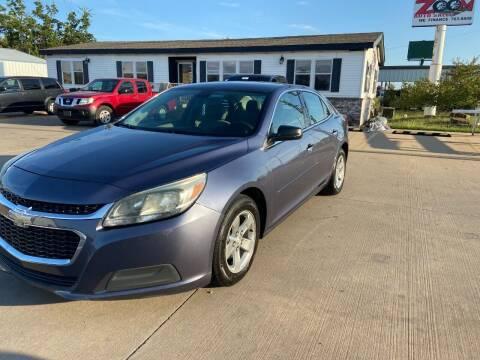 2014 Chevrolet Malibu for sale at Zoom Auto Sales in Oklahoma City OK