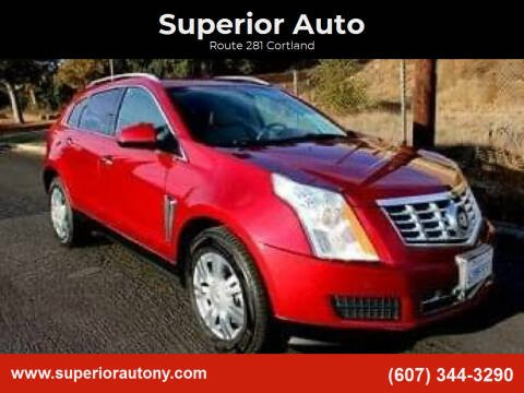 2013 Cadillac SRX for sale at Superior Auto in Cortland NY