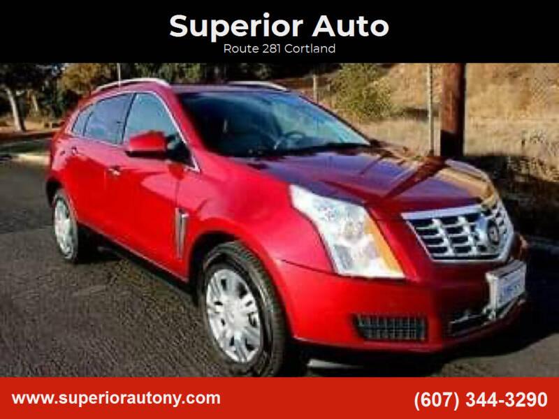 2013 Cadillac SRX for sale at Superior Auto in Cortland NY
