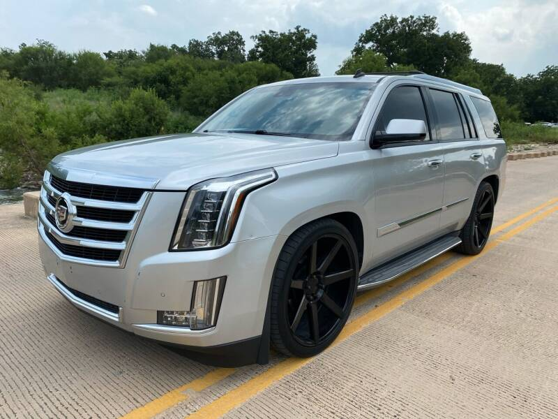 2015 Cadillac Escalade for sale at GTC Motors in San Antonio TX