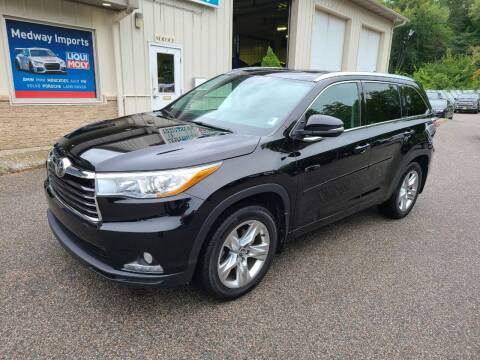2016 Toyota Highlander for sale at Medway Imports in Medway MA