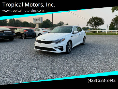 2019 Kia Optima for sale at Tropical Motors, Inc. in Riceville TN