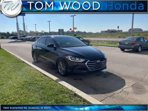 2018 Hyundai Elantra for sale at Tom Wood Honda in Anderson IN