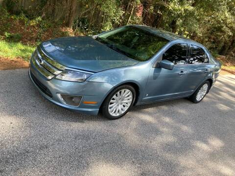 2012 Ford Fusion Hybrid for sale at Import Auto Mall in Greenville SC